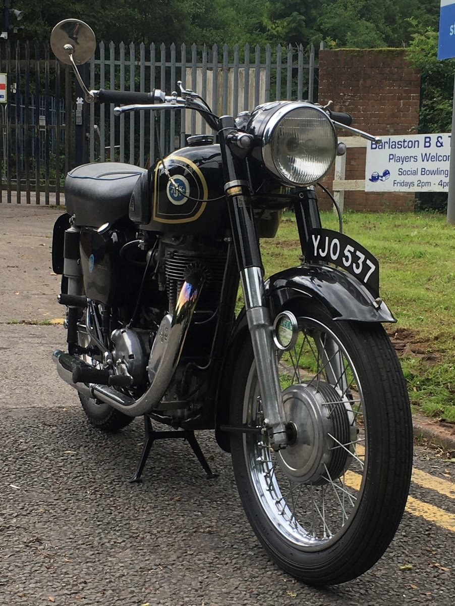 1956 stunning ajs 18s 500cc thumper For Sale (picture 3 of 5)