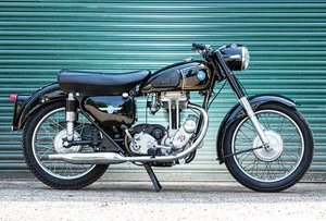 1956 AJS 348cc Model 16MS