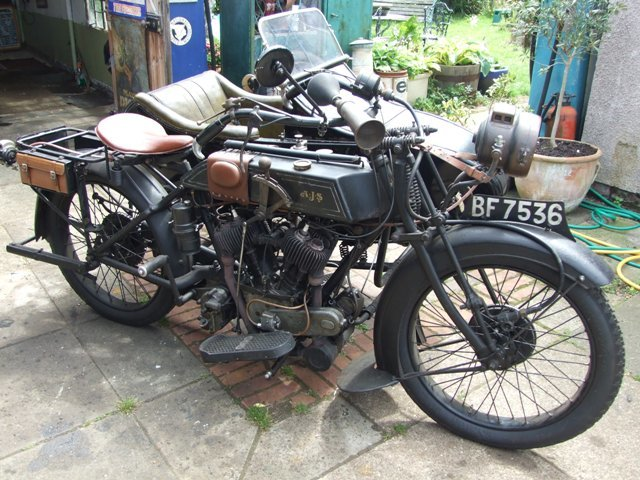 1923 AJS D1 Combination For Sale (picture 1 of 6)