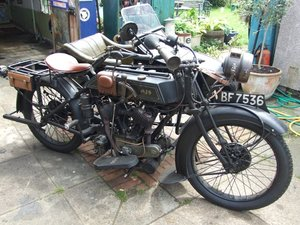 1923 AJS D1 Combination plus dicky seat