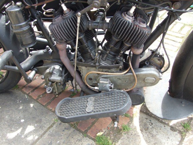 1923 AJS D1 Combination For Sale (picture 2 of 6)