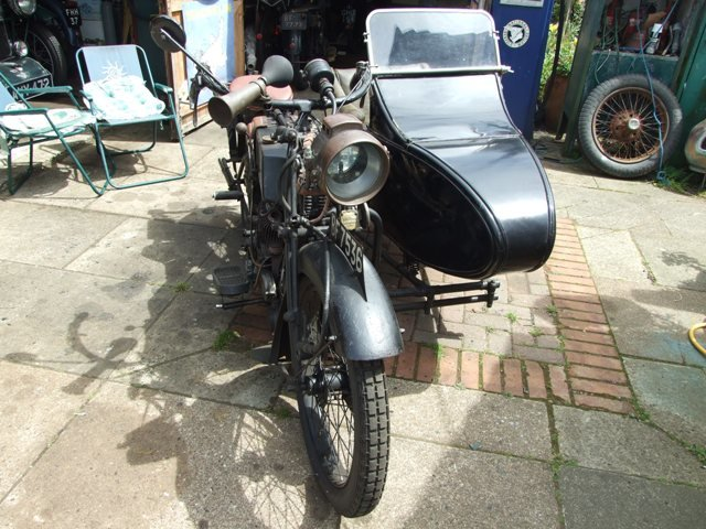 1923 AJS D1 Combination For Sale (picture 3 of 6)