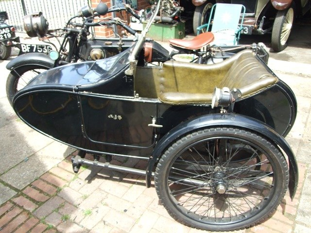 1923 AJS D1 Combination For Sale (picture 4 of 6)