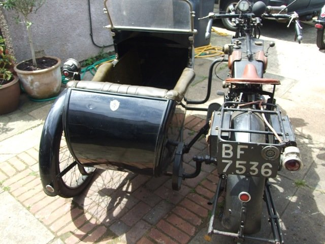 1923 AJS D1 Combination For Sale (picture 5 of 6)
