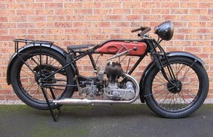 1928 AJS 248CC MODEL K12 PROJECT (LOT 361)