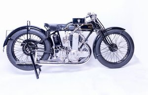 1928 AJS 349CC K7 RACING MOTORCYCLE (LOT 402)
