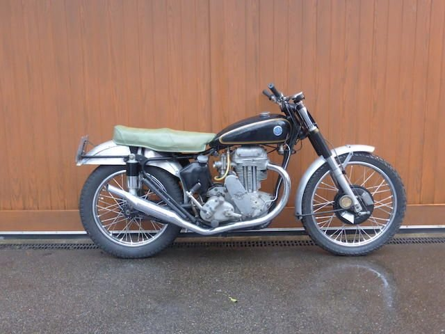 1951 AJS 497CC MODEL 18CS SCRAMBLER (LOT 427) SOLD by Auction (picture 1 of 1)