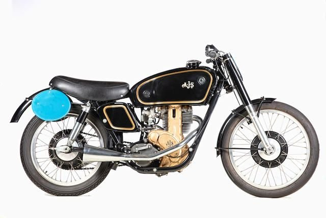 C.1950 AJS 7R 350CC RACING MOTORCYCLE (LOT 630) SOLD by Auction (picture 1 of 1)