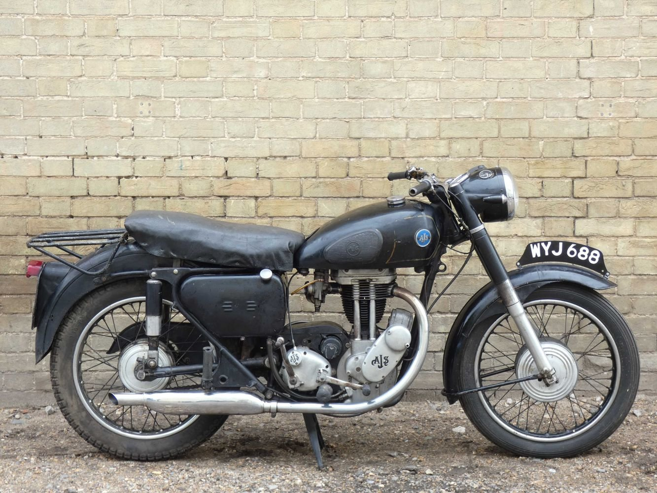 1957 AJS 16MS 350cc For Sale (picture 1 of 6)