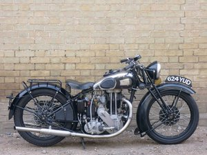 1936 AJS Model 36/8 500cc