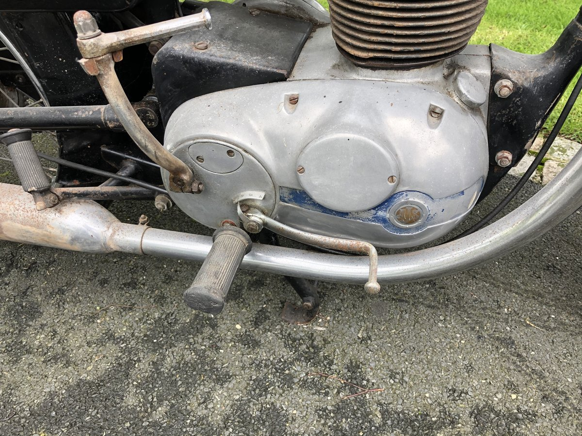 *REMAINS AVAILABLE* 1960 AJS Model 8 For Sale by Auction (picture 5 of 6)