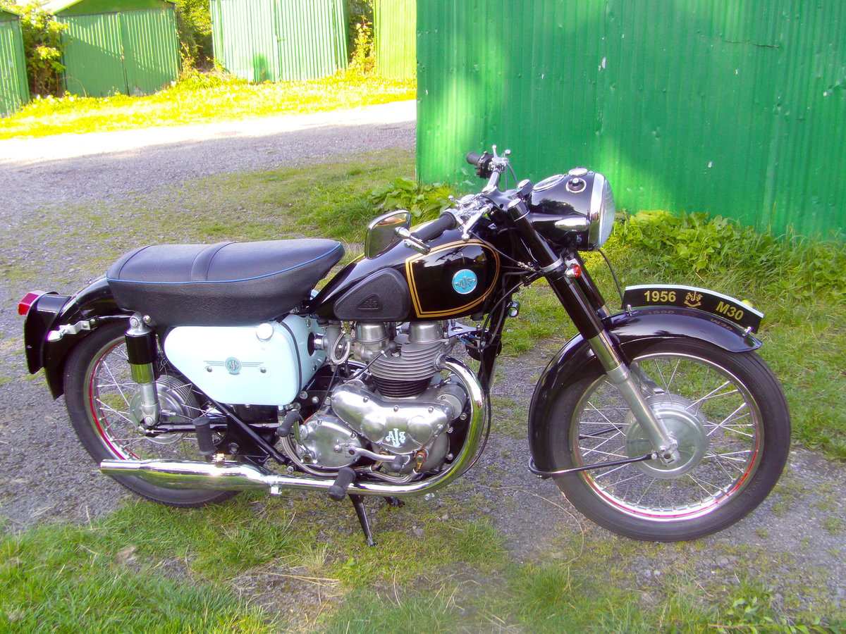 Picture of 1956 AJS model 30 For Sale