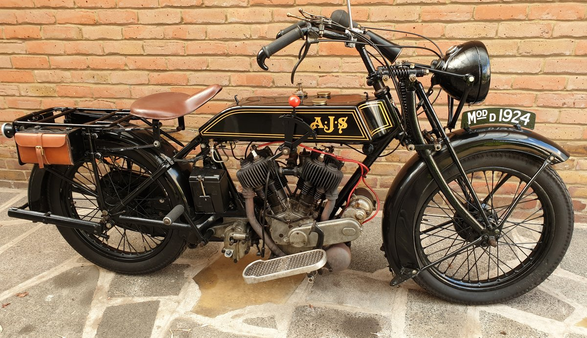 1924 AJS Model D For Sale (picture 1 of 6)