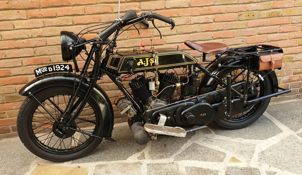 1924 AJS Model D For Sale (picture 2 of 6)