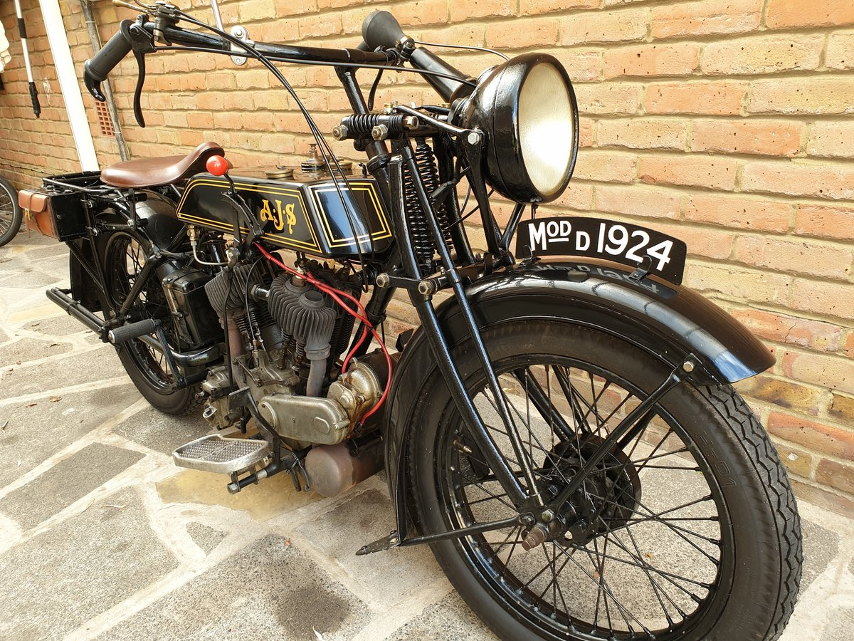 1924 AJS Model D For Sale (picture 4 of 6)