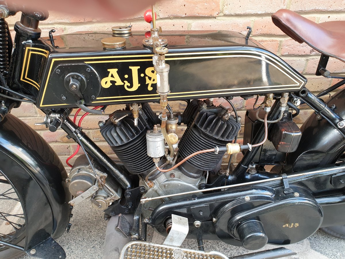 1924 AJS Model D For Sale (picture 5 of 6)