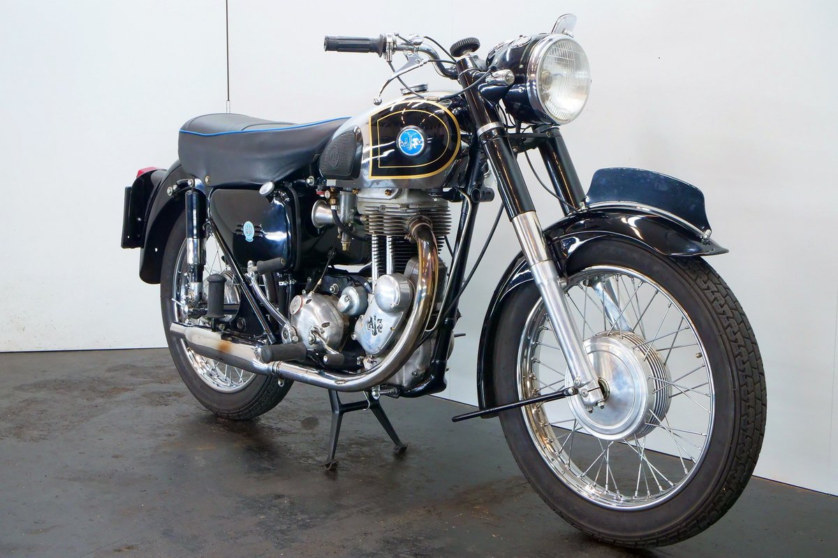 AJS 18S 1957 500cc 1 cyl ohv For Sale (picture 4 of 6)