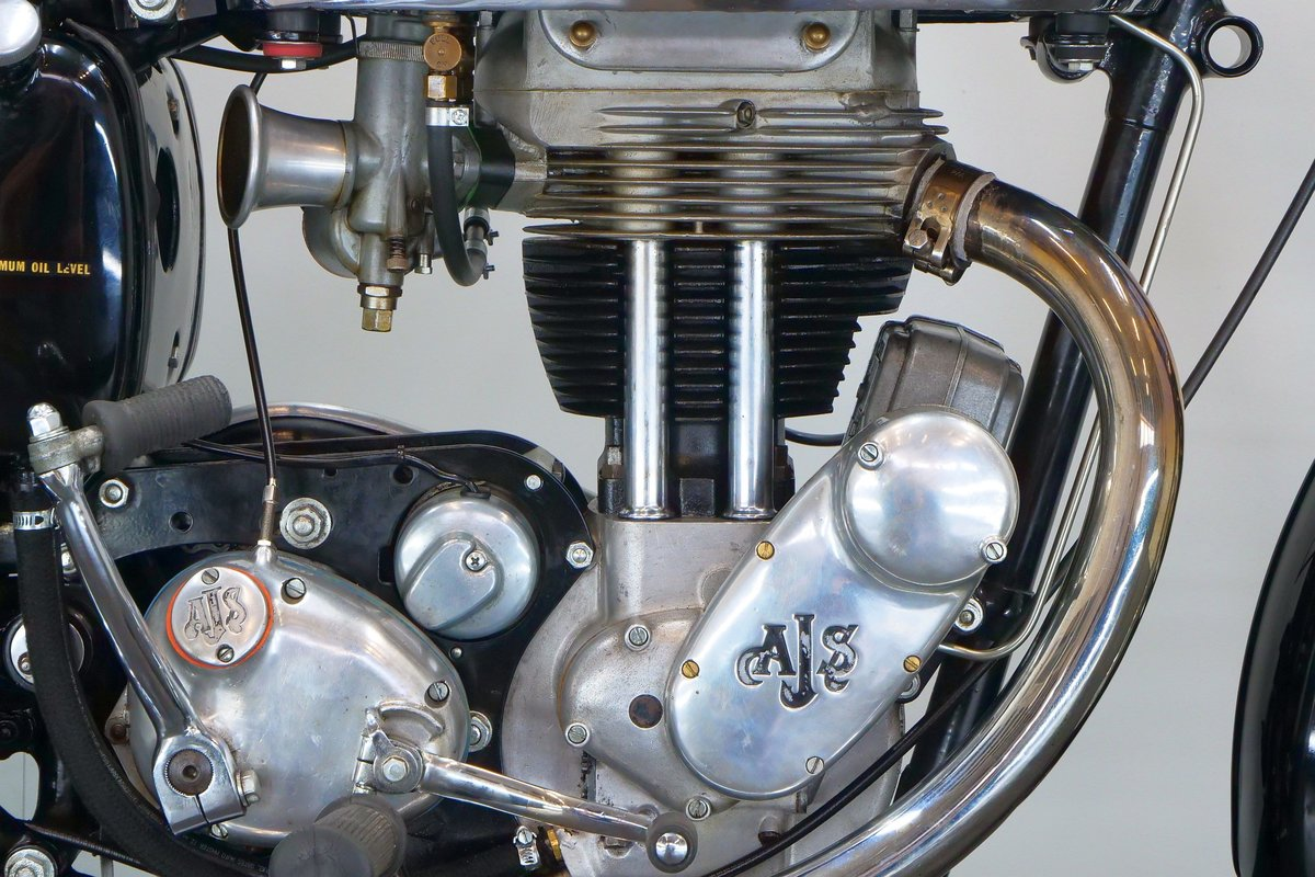 AJS 18S 1957 500cc 1 cyl ohv For Sale (picture 5 of 6)