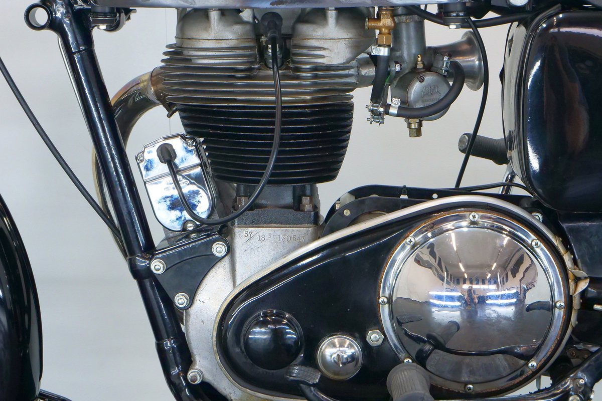 AJS 18S 1957 500cc 1 cyl ohv For Sale (picture 6 of 6)