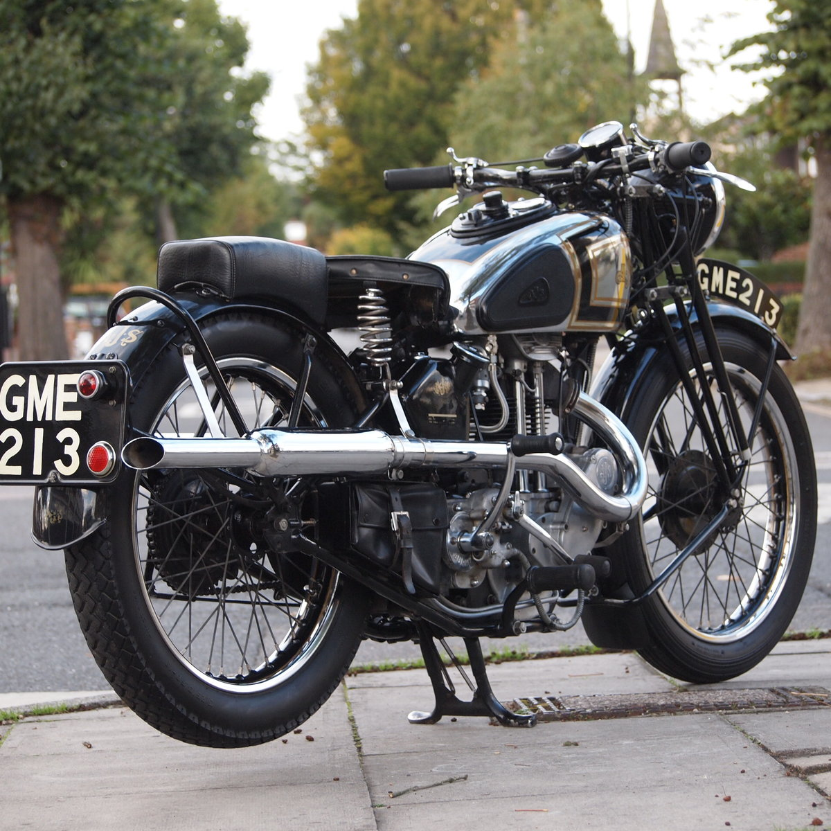 1937 AJS 350 Model 26 Vintage. RESERVED FOR ADAM. For Sale (picture 1 of 6)