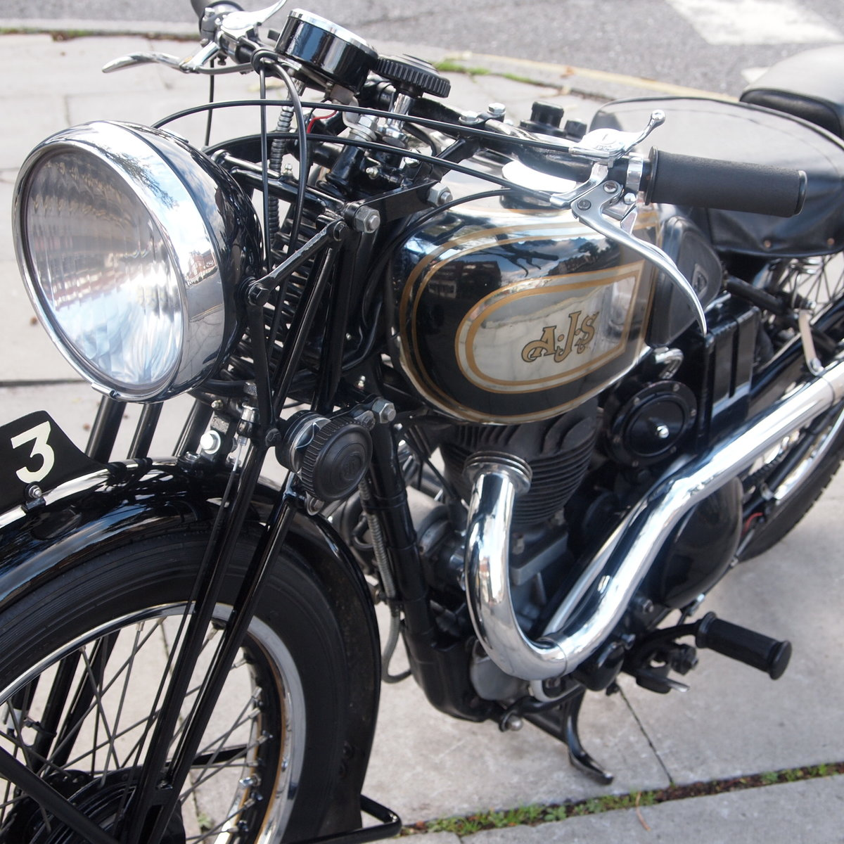 1937 AJS 350 Model 26 Vintage. RESERVED FOR ADAM. For Sale (picture 6 of 6)