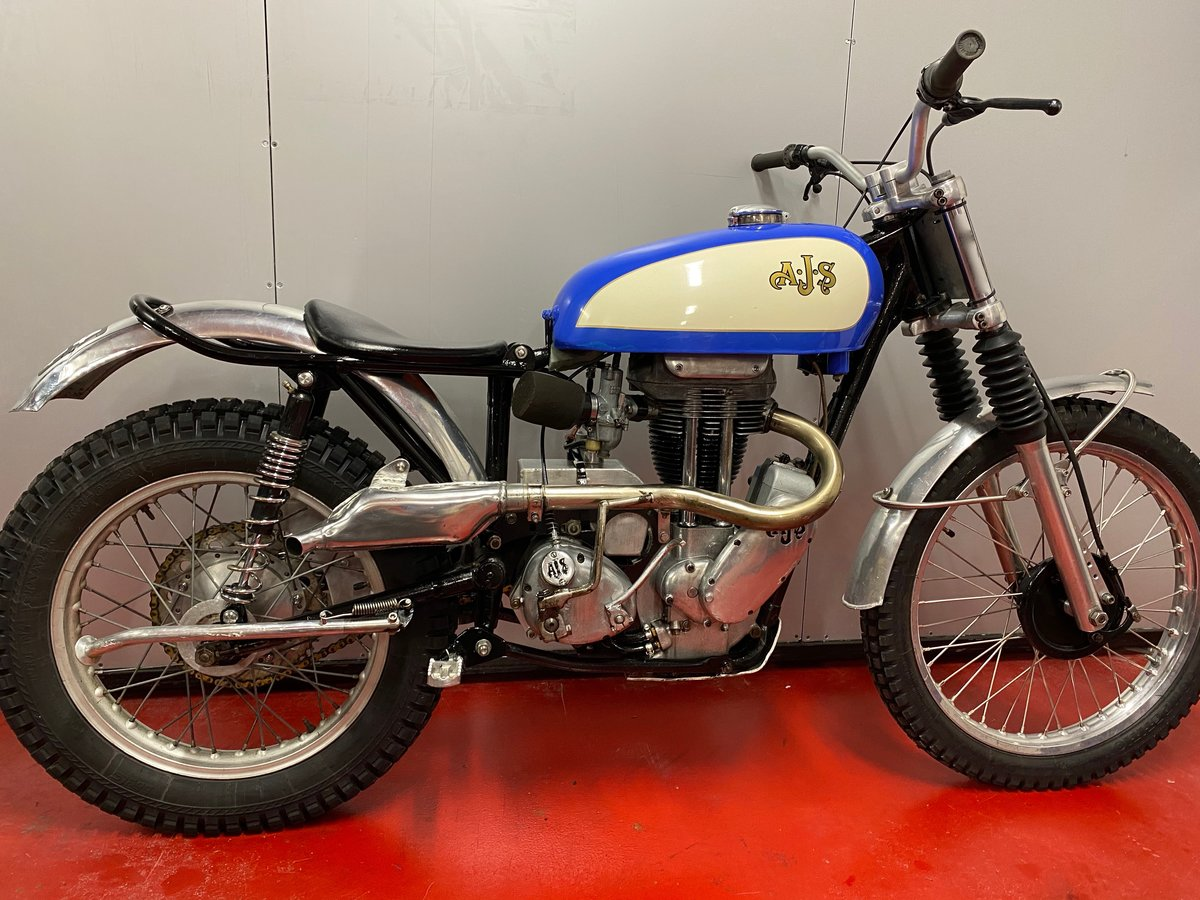 1959 AJS MATCHLESS TRIAL TRAIL ACE BIKE ROAD REGD + V5 ONO PX ? For Sale (picture 4 of 6)