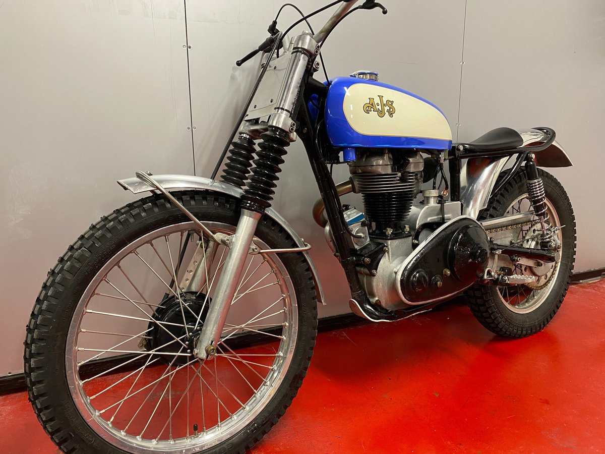 1959 AJS MATCHLESS TRIAL TRAIL ACE BIKE ROAD REGD + V5 ONO PX ? For Sale (picture 5 of 6)