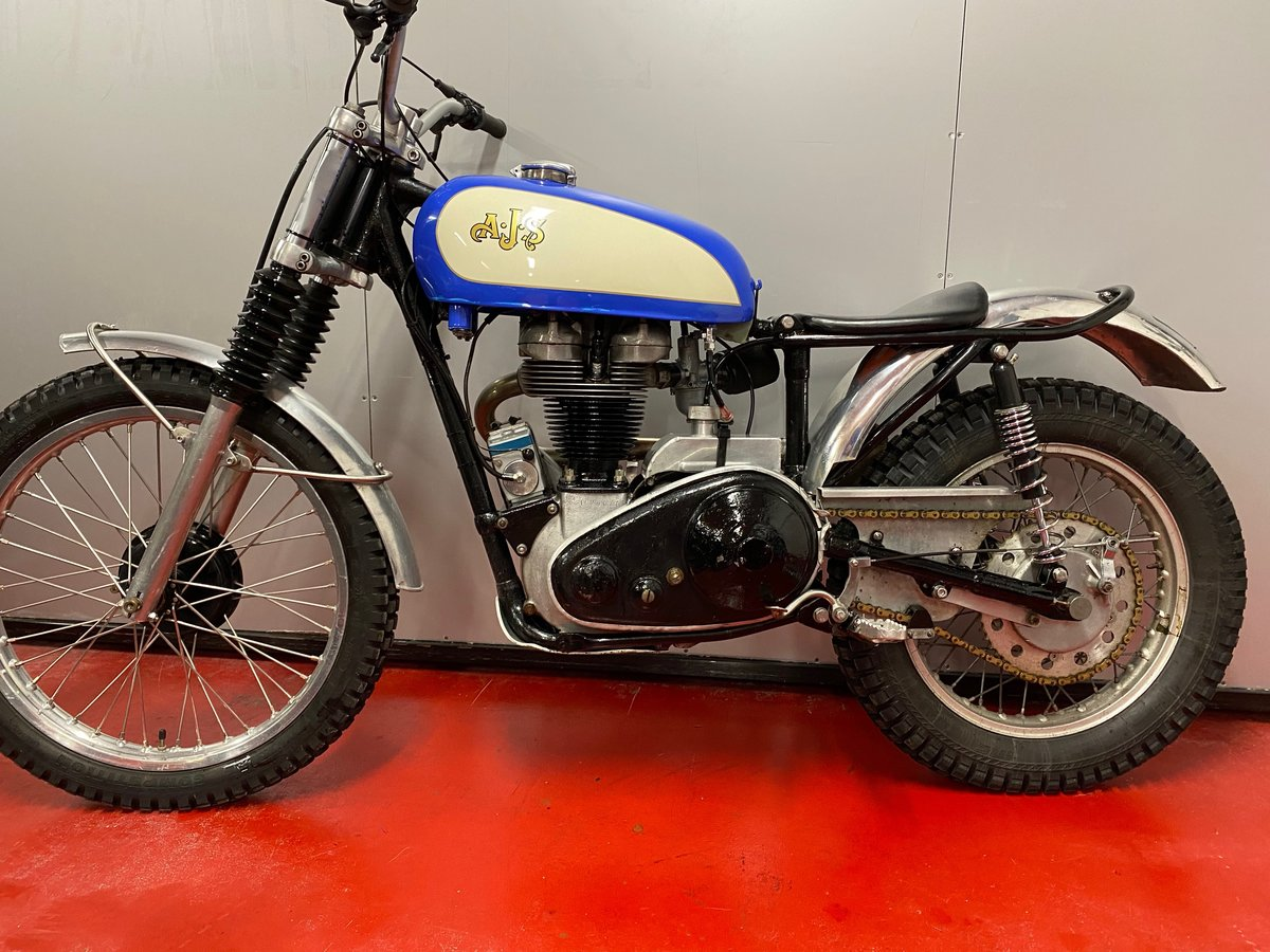 1959 AJS MATCHLESS TRIAL TRAIL ACE BIKE ROAD REGD + V5 ONO PX ? For Sale (picture 6 of 6)
