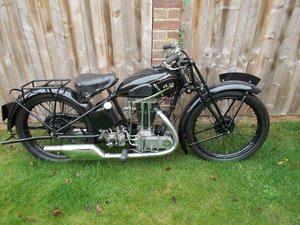 Lot 109 - A 1930 AJS R12 250 - 28/10/2020