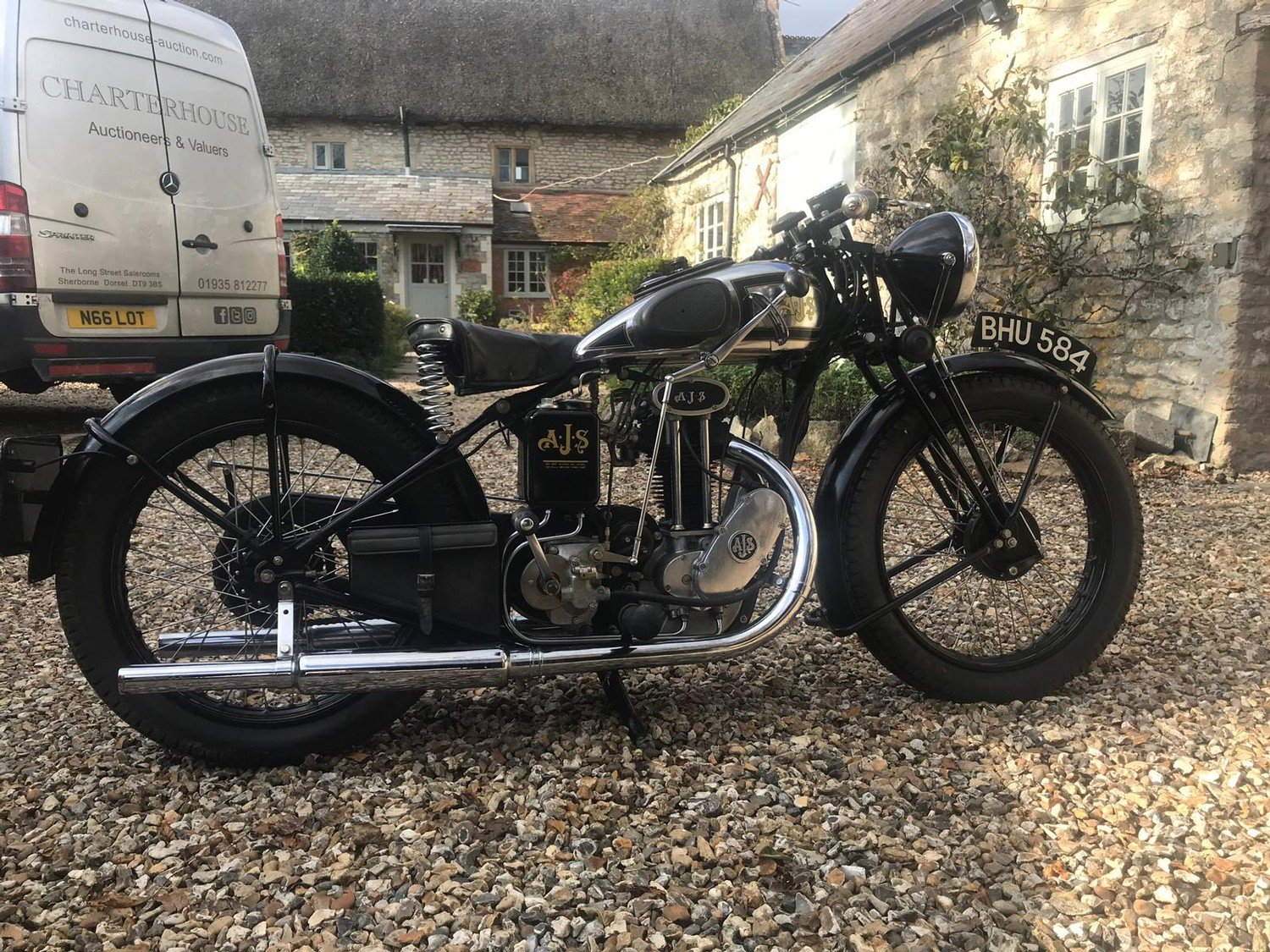 A 1935 AJS 250 - 11/11/2020 SOLD by Auction (picture 1 of 6)