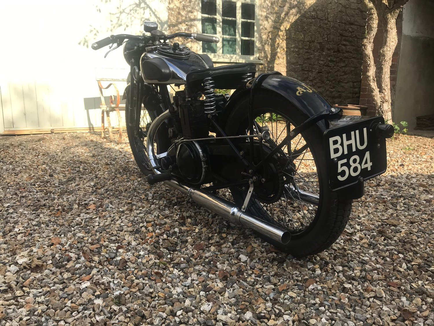 A 1935 AJS 250 - 11/11/2020 SOLD by Auction (picture 3 of 6)
