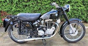 1954 AJS Model 18, 500cc.