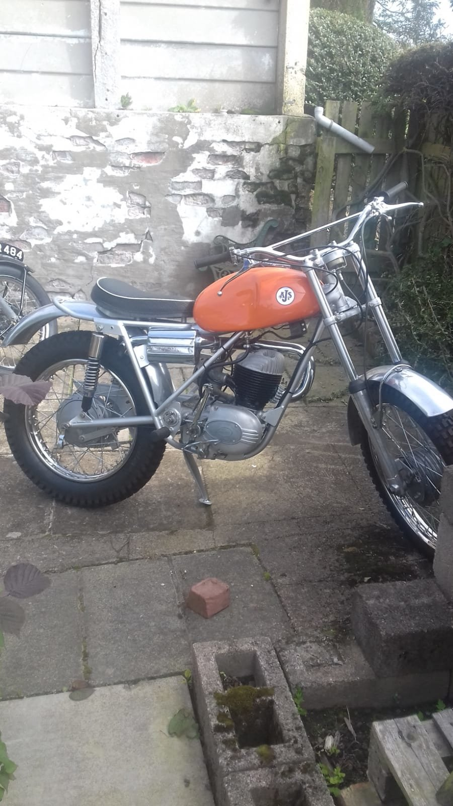 1969 AJS 37AT Trials Bike For Sale (picture 1 of 3)
