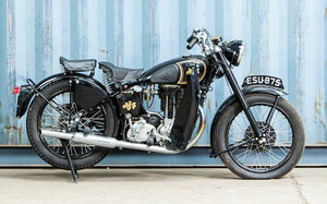 Picture of 1948 AJS 497cc Model 18