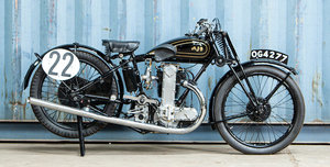 Picture of 1930 AJS 346cc R7 Racing Motorcycle For Sale by Auction