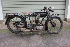 Picture of 1925 AJS 349cc De Luxe Sporting Model E4 For Sale by Auction