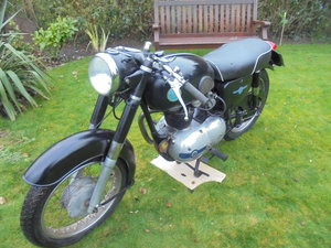AJS 250cc very good bike