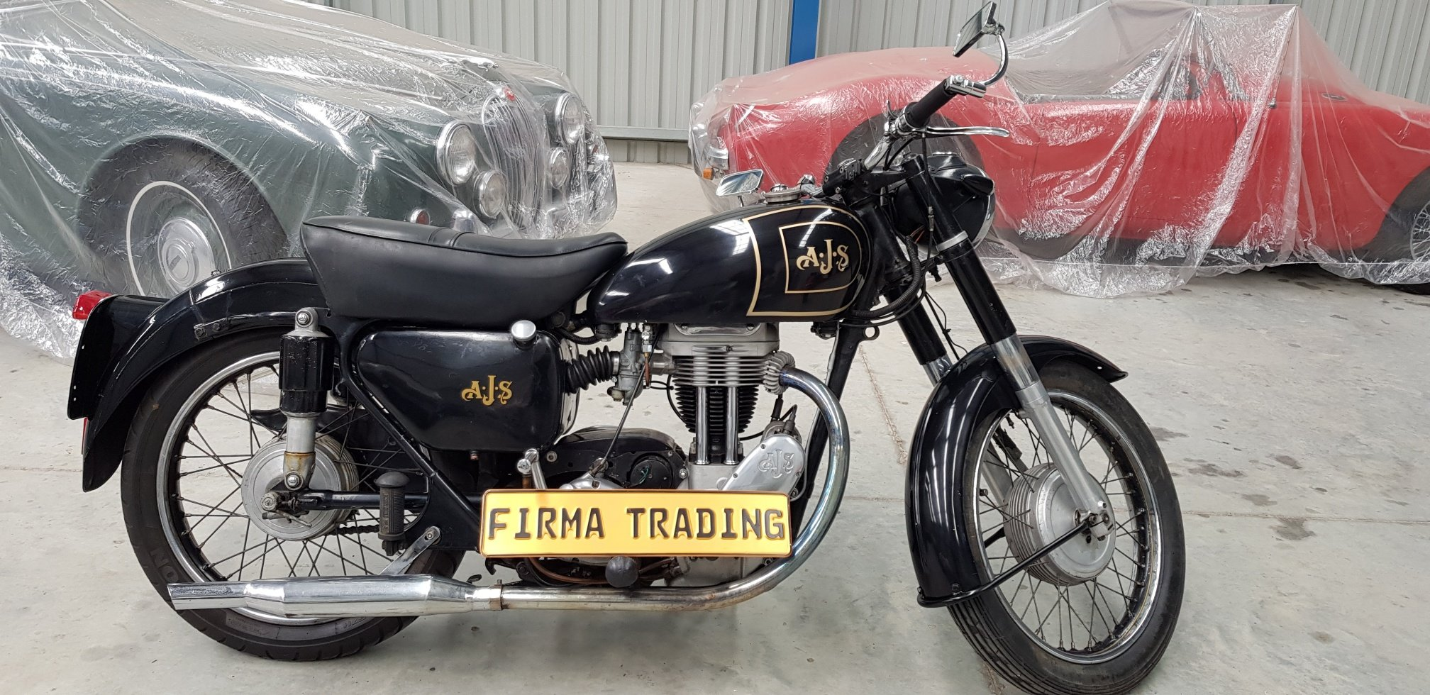 1956 AJS Single 350cc By Firma Trading Australia For Sale (picture 1 of 6)