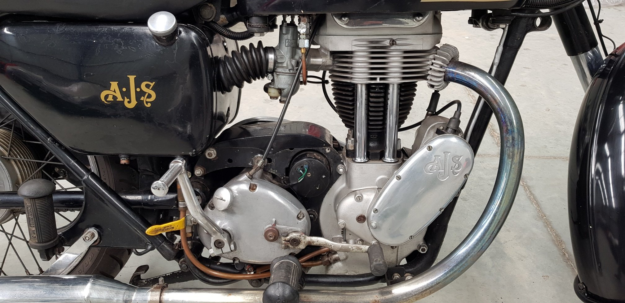 1956 AJS Single 350cc By Firma Trading Australia For Sale (picture 3 of 6)