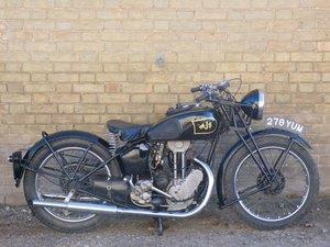 1937 AJS Model 22 250cc