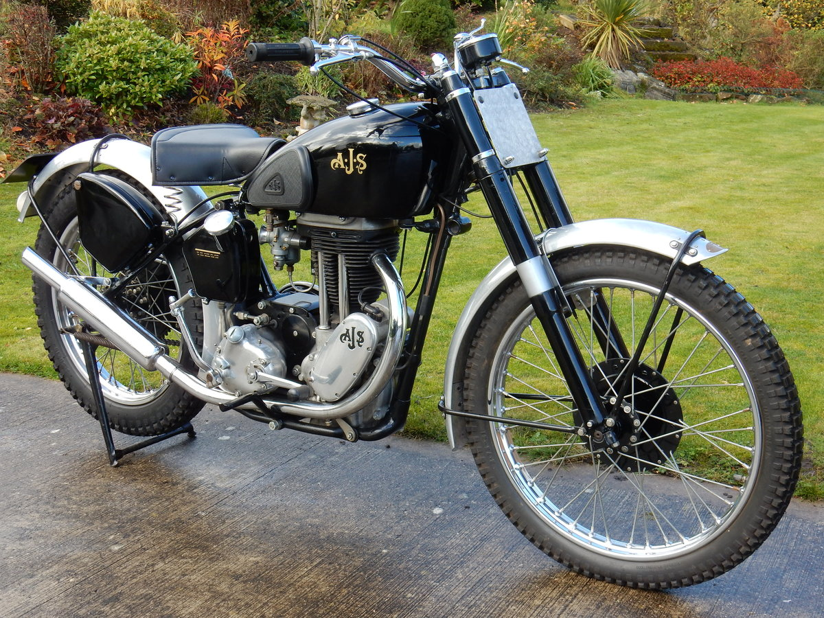 AJS 16M Competition 350cc  1949  Fabulous Condition For Sale (picture 1 of 11)