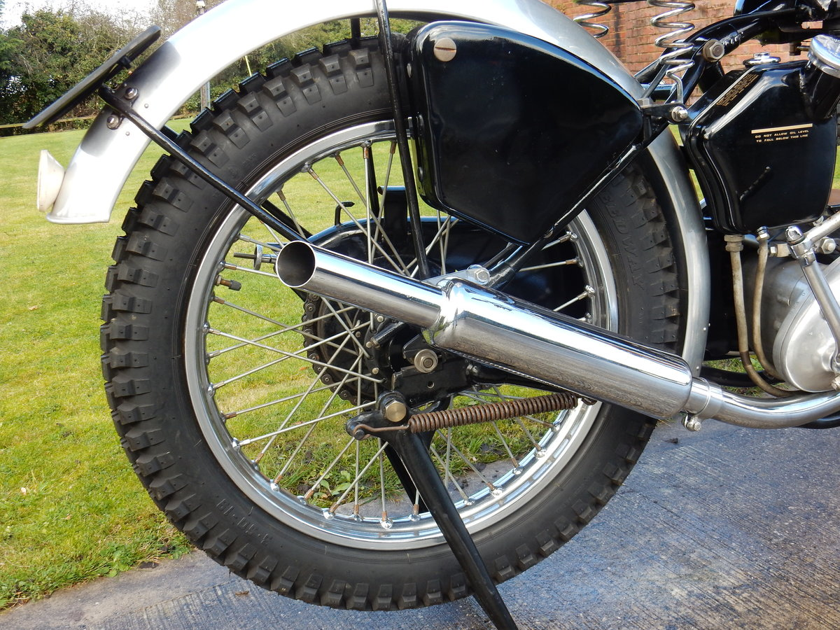 AJS 16M Competition 350cc  1949  Fabulous Condition For Sale (picture 6 of 11)