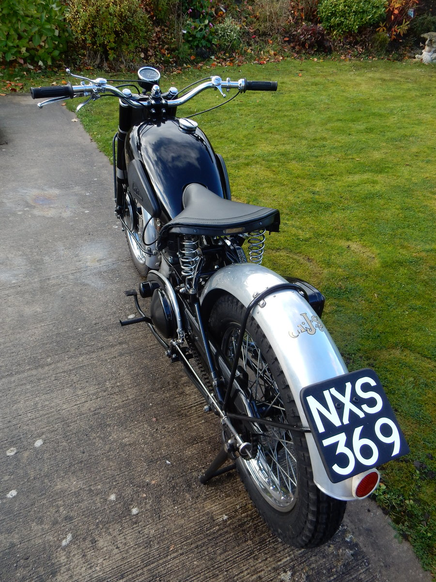 AJS 16M Competition 350cc  1949  Fabulous Condition For Sale (picture 10 of 11)