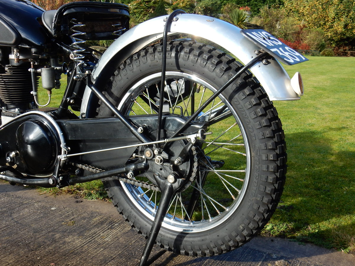 AJS 16M Competition 350cc  1949  Fabulous Condition For Sale (picture 11 of 11)