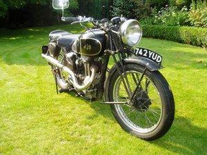 A 1938 AJS Model 22- 16/5/2021