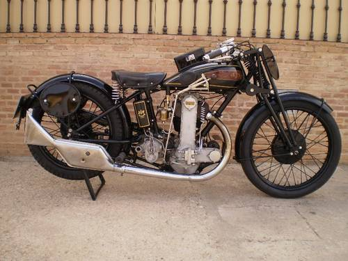1929 AJS MR 10 SR (SPECIAL RACING )500cc OHC For Sale (picture 1 of 6)