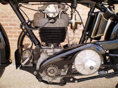 1929 AJS MR 10 SR (SPECIAL RACING )500cc OHC For Sale (picture 5 of 6)