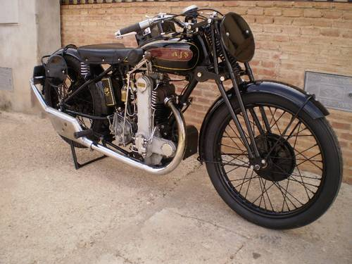 1929 AJS MR 10 SR (SPECIAL RACING )500cc OHC For Sale (picture 6 of 6)