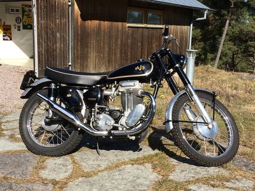1955 AJS 18 CS Competition restored For Sale (picture 1 of 1)