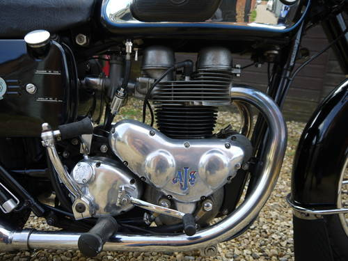 1962 AJS MODEL 31 - EXCELLENT RESTORED 650 TWIN !!  SOLD (picture 4 of 6)
